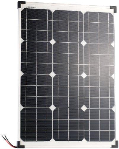 revolt Solarmodul: Mobiles Solarpanel mit monokristallinen Solarzellen, 50 Watt (Mobile Solaranlage)