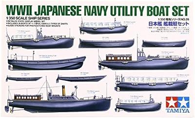 Tamiya - 78026 - Maquette - Bateaux Auxiliaires Japonais