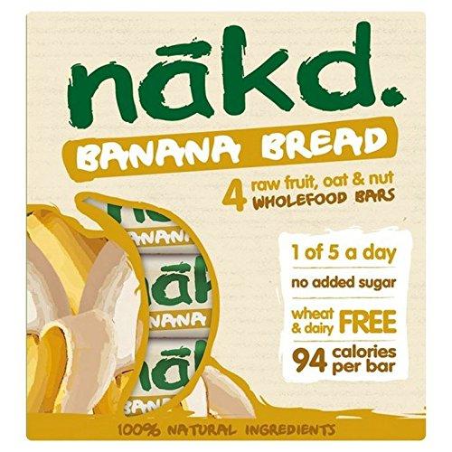 Nakd Bar Pane Di Banana 4 Per Confezione