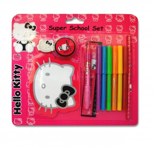 Hello Kitty Silhouette Super Schule ()