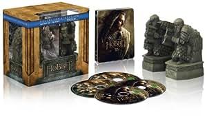 Der Hobbit: Smaugs Einöde Steelbook 3D (+Blu-ray) + Guards of Erebor - Buchstützen (exklusiv bei Amazon.de) [Limited Edition]