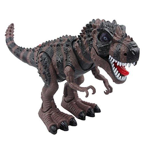 Yier Elektronisches Spielzeug Grau Gehen Tyrannosaurus Rex Dinosaurier