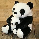 Adorabile panda fermaporta con cute piccolo bambino