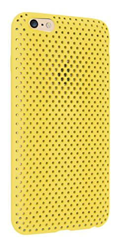 iPhone 6 Mesh case [Yellow] | [Made in Japan] AndMesh Mesh Case for iPhone 6 4.7 inch | Made in Japan Elastomer iPhone 6 / Yellow