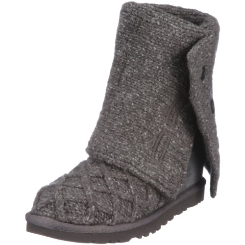 ugg-lattice-cardy-botines-planos-talla-36-color-gris-gris