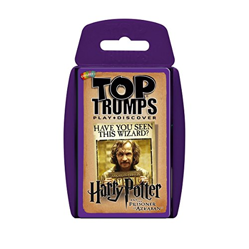 Winning Moves Kartenspiel Harry Potter und der Gefangene von Askaban von Top Trumps (Harry Potter Professor Snape)