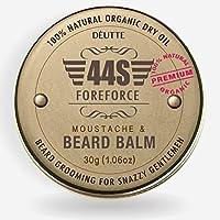 [Sponsorisé]44S Barbe Baume pour Hommes, 100% Naturel Biologique Après-shampooing Homme Barbe Huile