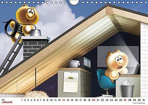 Gelini Posterkalender (Wandkalender 2019 DIN A4 quer): Knuffiges Geschenk für alle Fans (Monatskalender, 14 Seiten ) (CALVENDO Spass)