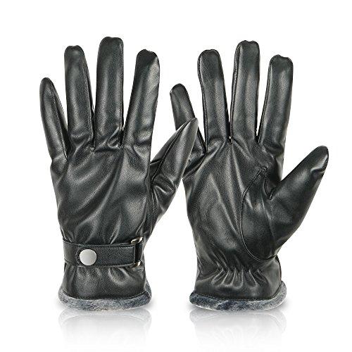 Kata Herren Winter Lederhandschuhe Outdoor Warme Handschuhe L