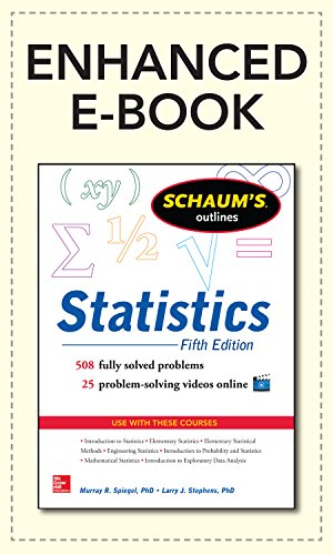 Schaum's Outline of Statistics, 5th Edition (Schaum's Outline Series)