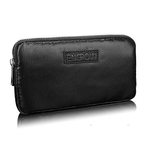 Powerbank Case Feuerfest Universal Reise Hülle Kompatibel mit 7 20.000mAh Anker Astro E1 5200mAh Battery Tasche für Ladegeräte,USB-Kabel,Kopfhörer Externer Akku