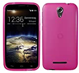 TBOC Pink Ultra Thin TPU Silicone Gel Case Cover for