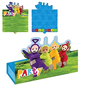 Amscan International - 9901198 Teletubbies stand-up invitaciones con sobre