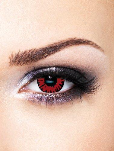 t Vampir Movie Film Kontaktlinsen ohne Stärke für Halloween und Karneval (Twilight Kontaktlinsen)