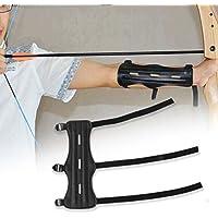Sungpunet Vue tir à l'arc flèche Vue Cible tir à l'arc Arm Guard Protection avec 3 Sangle