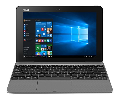 ASUS T101HA-GR029R 2-in-1 Transformer Book (Grey) – (Intel Atom x5-Z8350 Processor, 4GB Memory, 64GB eMMC, Bluetooth, Windows 10 Professional)