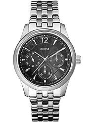 Guess Herren-Armbanduhr XL Chronograph Quarz Edelstahl W0474G1