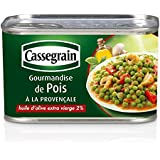 Cassegrain,gourmandise de pois à la pronvençale
