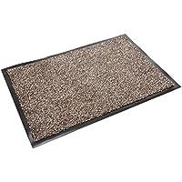 Addis Zerbino ampio e altamente assorbente, anti-scivolo, in cotone misto polipropilene, lavabile in lavatrice, 75cm x 50cm, colore marrone - Trova i prezzi più bassi