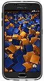 mumbi Schutzhülle Samsung Galaxy S6 / S6 Duos Hülle transparent schwarz (Slim – 1.2 mm) - 6