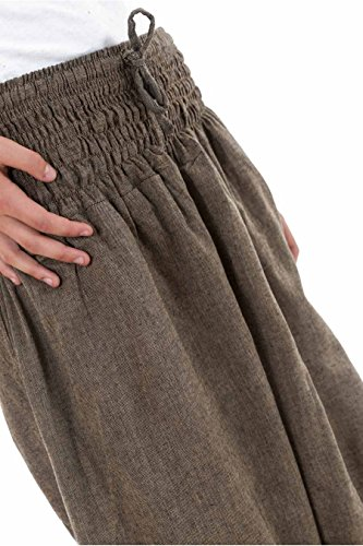 Fantazia -  Pantaloni  - Donna Marrone