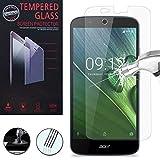 VCOMP® 1 Film Vitre Verre Trempé de protection d'écran pour Acer Liquid Zest Plus Z628 - TRANSPARENT