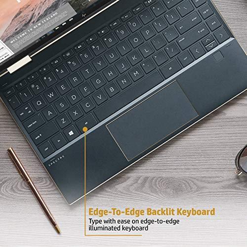 HP Spectre x360 Core i5 10th Gen 13-inch FHD Touchscreen Laptop (8GB/512 GB SSD/Windows 10/MS Office 2019/Dusk Black/1.27 kg), 13-aw0204TU Image 6