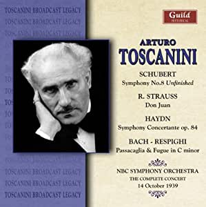 Toscanini Dirigiert Schubert 8/+