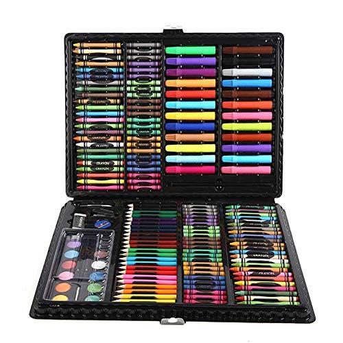 Supererm 168 Stück Buntstifte Kunst-Set zum Zeichnen und Skizzieren Malset für Kinder Künstler Anfänger inspirieren und entwickeln angehende Künstler Zeichnungen.