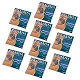 Kmise Cordes pour Guitare Acoustique 6Cordes 010-.047Super clair Yamaha de rechange Lot de 10