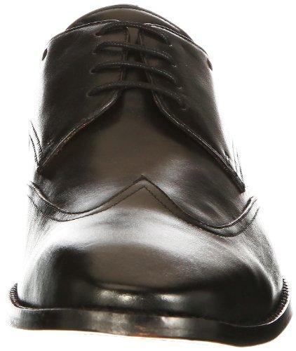 Manz 153001, Chaussures à lacets homme Noir (Schwarz 001)