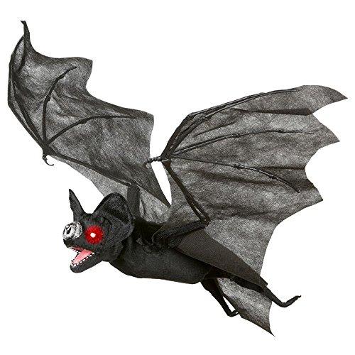 Animierte Fledermaus mit Licht und Sound Effekte - Halloween