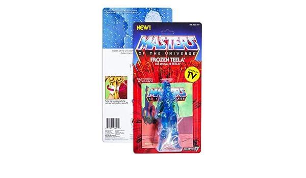 Figures StaticheFigures Statiche Frozen Teela Masters of The Universe Vintage Wave 3 14 cm Figure Super7