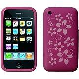 Neues Qualität Lila Blumen Muster Silikon Schutzhülle Für Apple IPhone 3G 3GS Von Yousave