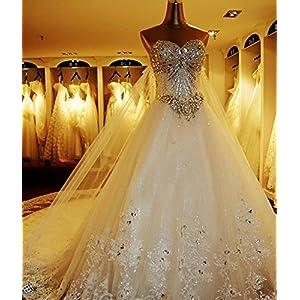 Preis Brautkleider Hochzeitskleider Prinzessin Tull Glitzer