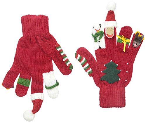 Kidorable Original Gebrandmarkt Weihnachten Handschuhe für Mädchen, Jungen, Kinder - Klein (Stricken Handschuhe Magie)