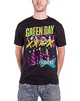 Green Day Herren T Shirt Schwarz Hypno 4 UNO DOS TRE offiziell