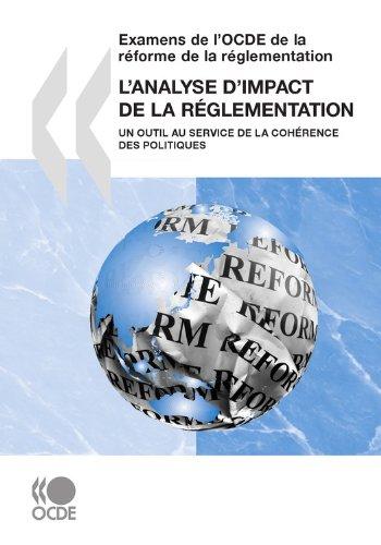 L'analyse d'impact de la réglementation: Un outil au service de la cohérence des politiques