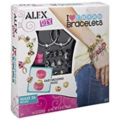 Idea Regalo - Alex 736L-5 Crea Bracciali Ciondoli e Perle