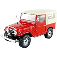 Triple 9 – Miniatura de Coche Toyota Land Cruiser FJ40 1967 (Escala 1/18