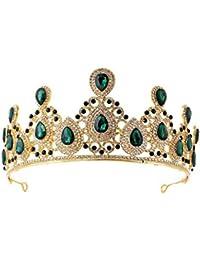 SADASD European Baroque Strass Bridal Crown Headband Lega di Nozze  intarsiato Diamante Copricapo da Sposa Accessori 6b5b809d4394