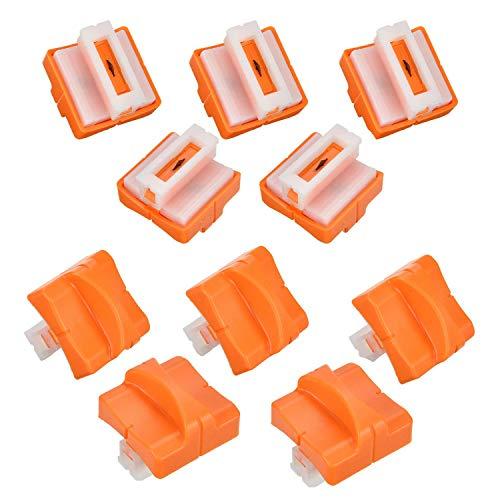 Anpress - Cuchilla recambio cortador papel 10 piezas