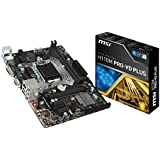 MSI Mainboard H110M PRO-VD Plus LGA1151 2x DDR4 max 32GB PCIe3.0 x16 1x DVI-D 1x VGA 4x Sata3 USB3.1 mATX - gut und günstig
