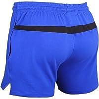 Muscle Alive Uomo Bodybuilding Palestra Pantaloncini Cotone Allenarsi Sportivo Abbigliamento
