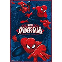 Marvel mv07220 150 x 100 cm Ultimate Spiderman Manta ...