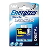 Energizer Ultimate Lithium LR03/FR03/L92/AAA/Micro, 2er Pack