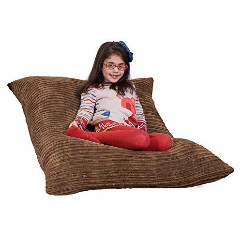 Junior Klassischer Cord Sitzsack Sand (Junior Cord)
