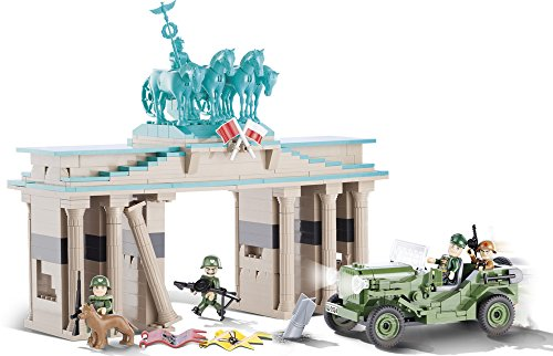 COBI 2463 – The Battle of Berlin, Konstruktionsspielzeug, grün/beige - 4