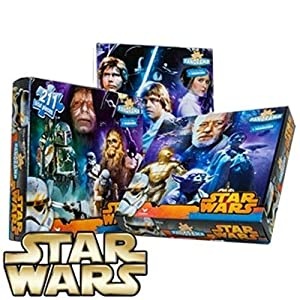 Star Wars Jigsaw Puzzle The Complete Saga Jigsaw Puzzles for Children Age 3 and Above – Strong, Durable, Great Artwork, Contains Favourite Star Characters
