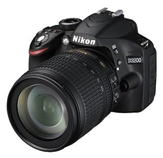 Nikon D3200 SLR-Digitalkamera (24 Megapixel, 7,4 cm (2,9 Zoll) Display, Live View, Full-HD) Kit inkl. AF-S DX 18-105 VR Objektiv schwarz (B007VLSRB0) | Amazon price tracker / tracking, Amazon price history charts, Amazon price watches, Amazon price drop alerts